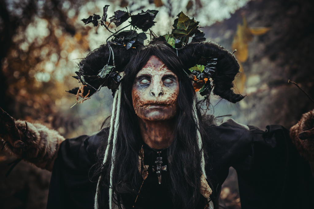 Forest witch stock
