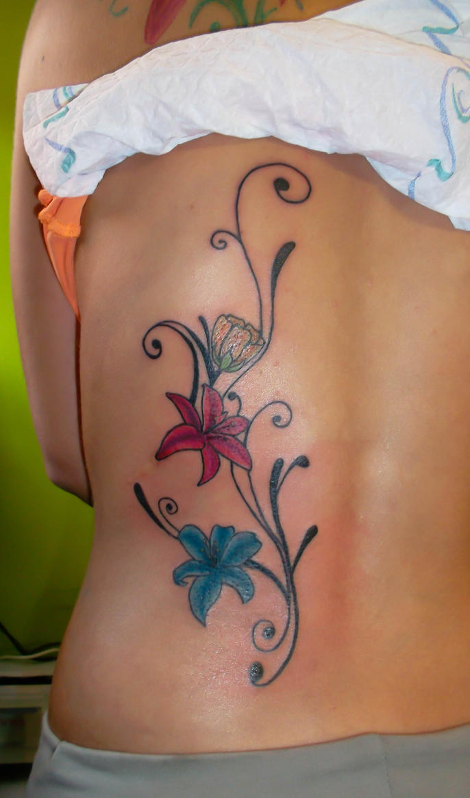 Lily Flower Tattoo By Dady0219 On Deviantart