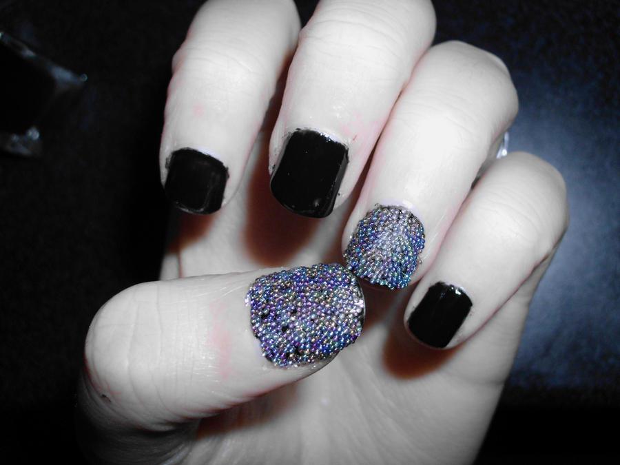 caviar nail by resurged on deviantart