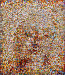 Davinci's Head of a women