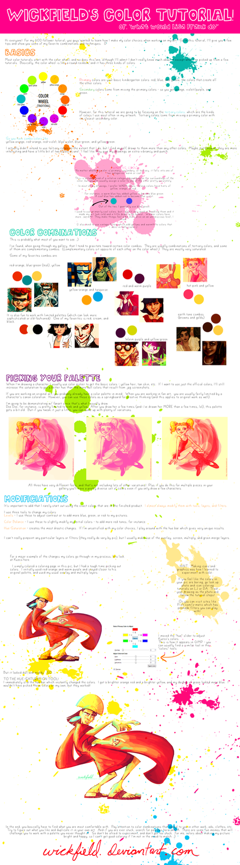Color Tutorial by Wickfield