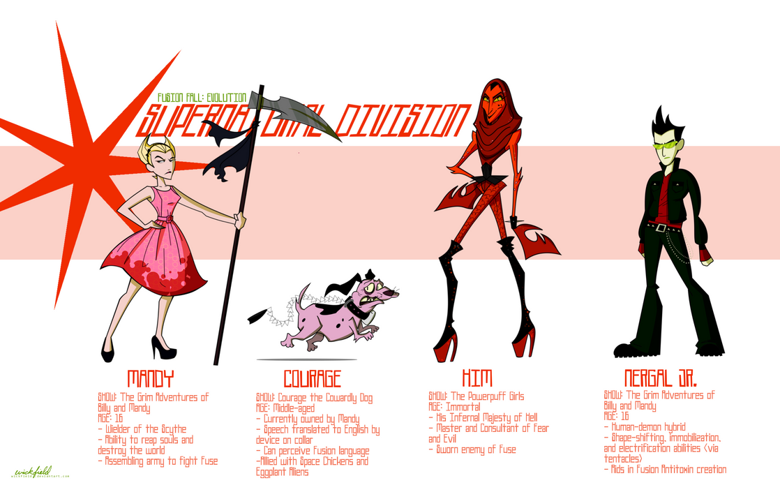 Fusion fall evolution supernatural division by wickfield on deviantart fusion fall evolution supernatural division by wickfield voltagebd Gallery