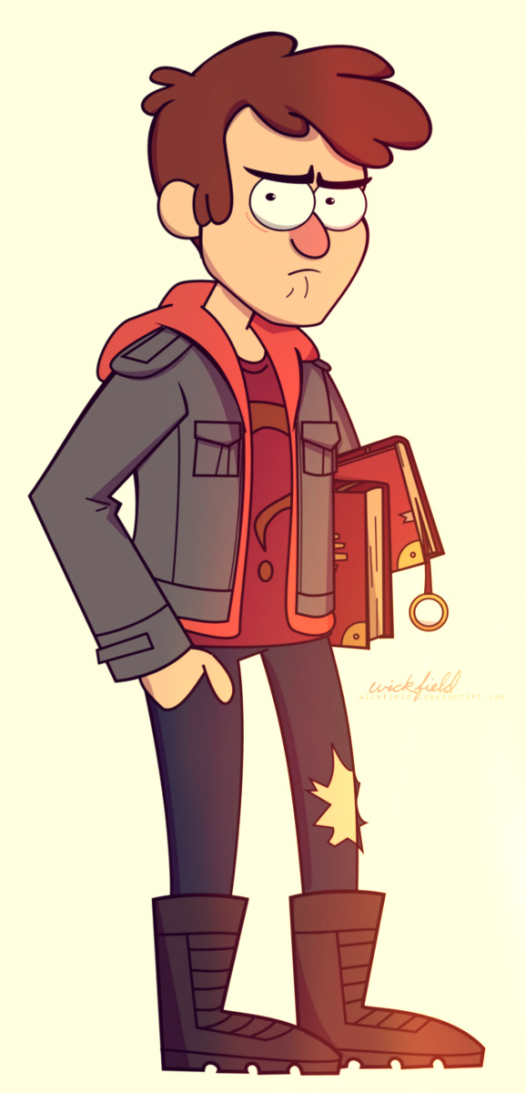 gravity falls how to draw dipper