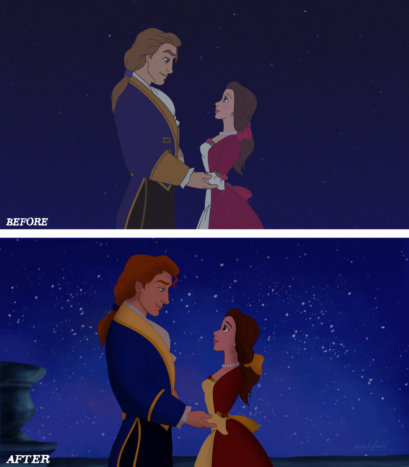 Disney Sequel Redraw: The Enchanted Christmas by Wickfield on ...