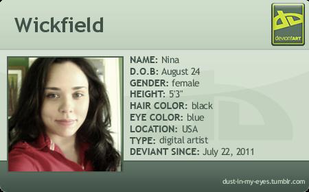 Wickfield's Profile Picture