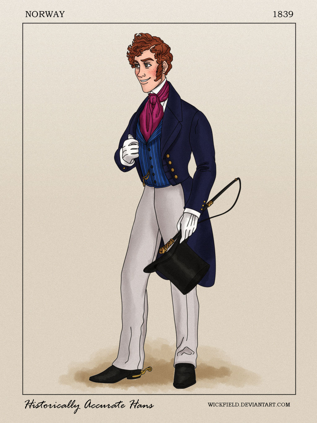 Historically Accurate Hans by Wickfield
