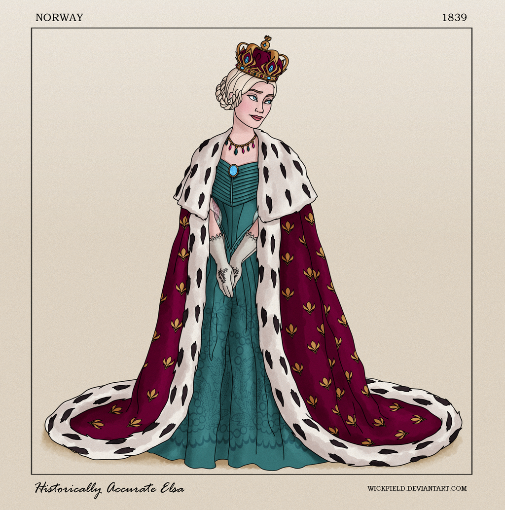Historically Accurate Elsa by Wickfield