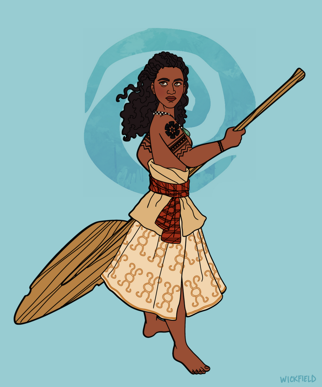 Ancient Moana by Wickfield