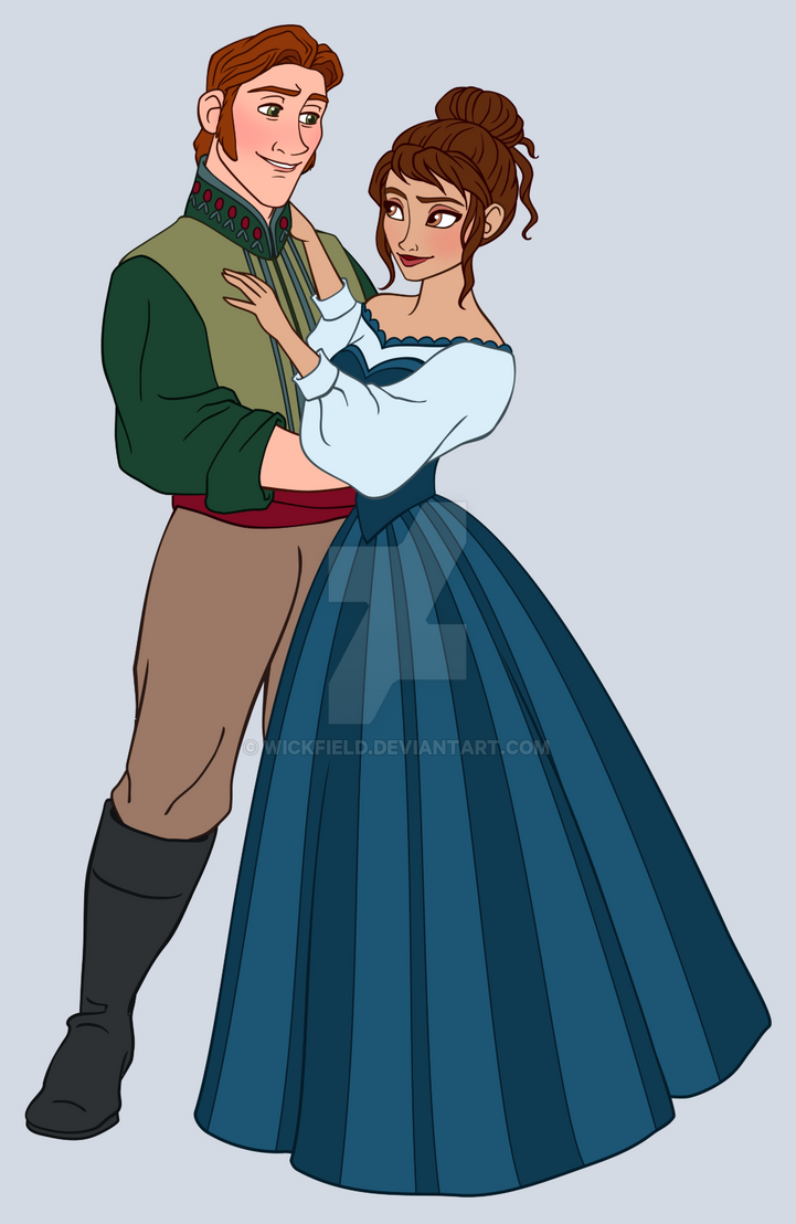 Hans and Natalia: Commission for Kira-Ani-McGrath by Wickfield