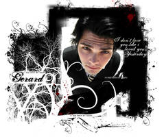 Gerard Way Wallpaper by motherwardesigns