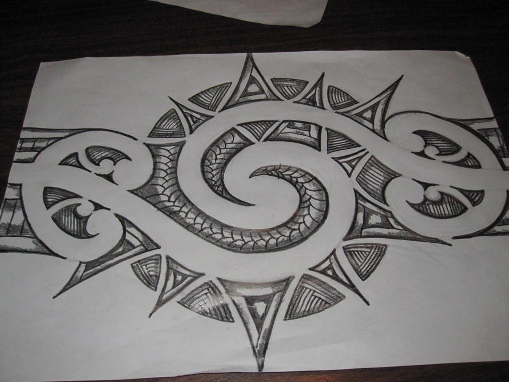 maori inspired tattoo ...