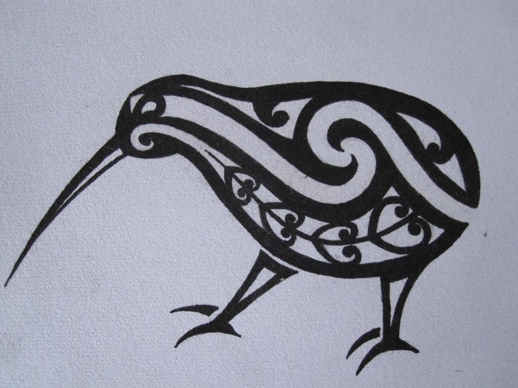 Maori Kiwi Tattoo: Kiwi By Tattooeddnbhead On DeviantArt