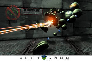 Vectorman by TronixGFX