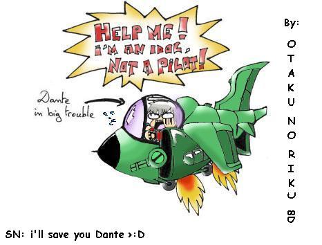 Dante in a slug flyer coloured by Silent-Neutral