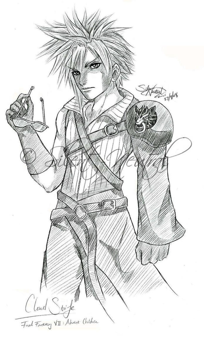 Request: FFVII:AC Cloud by Silent-Neutral