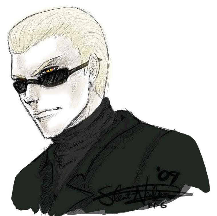 Wesker sketch by Silent-Neutral