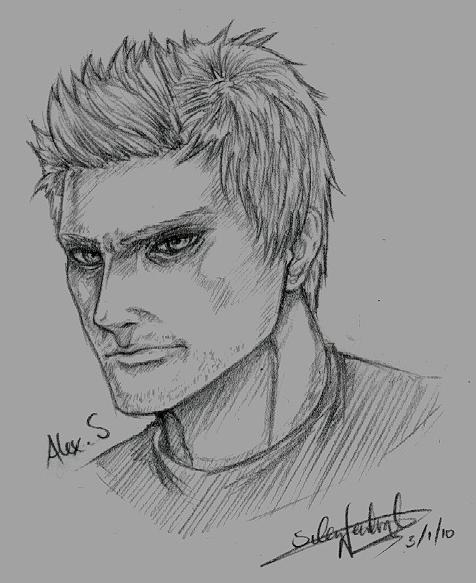 Alex sketch by Silent-Neutral