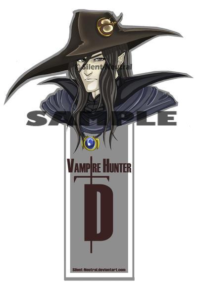 Vampire Hunter D: bookmark by Silent-Neutral
