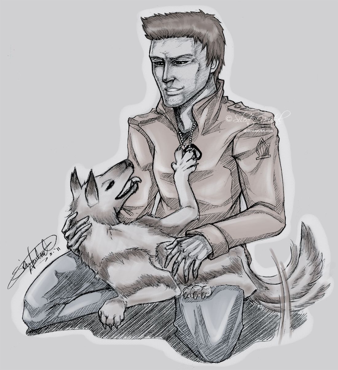 Alex and Shuki by Silent-Neutral