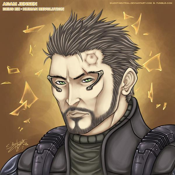 Deus Ex (HR): Adam Jensen by Silent-Neutral