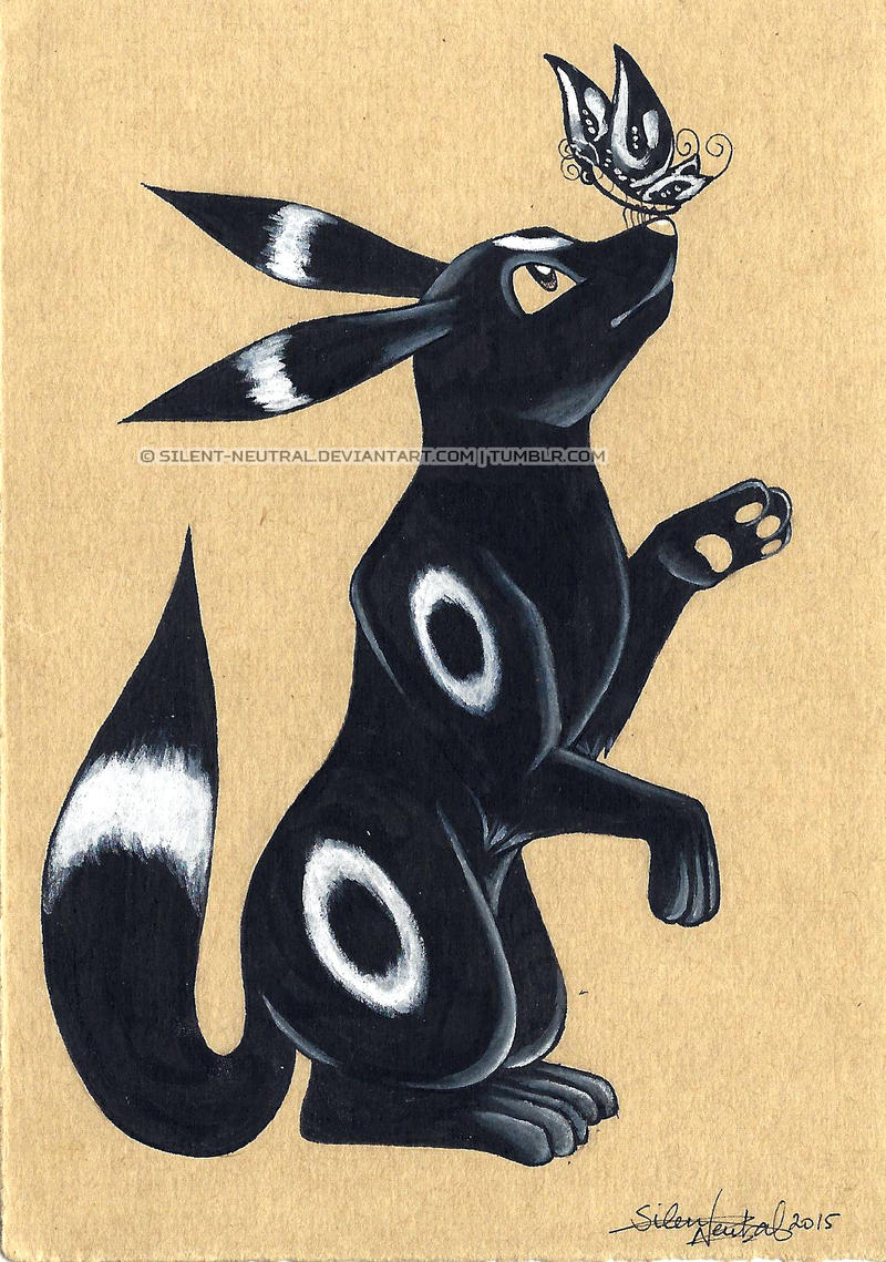 Request: Umbreon by Silent-Neutral