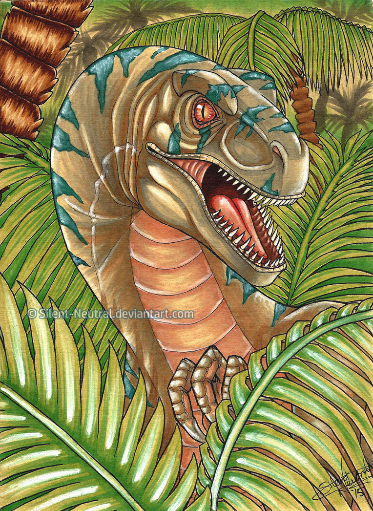 Blue - Jurassic World by Silent-Neutral
