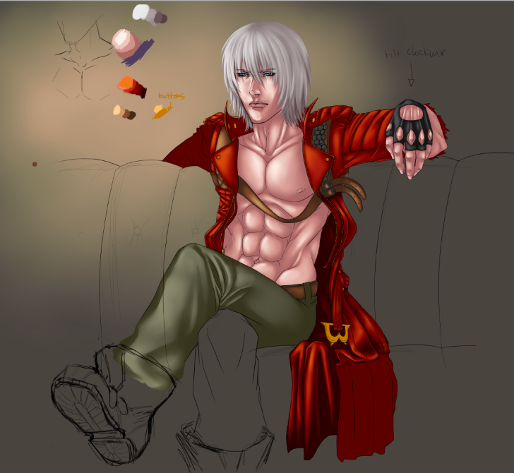 Dante DMC3 WIP 2 by Silent-Neutral