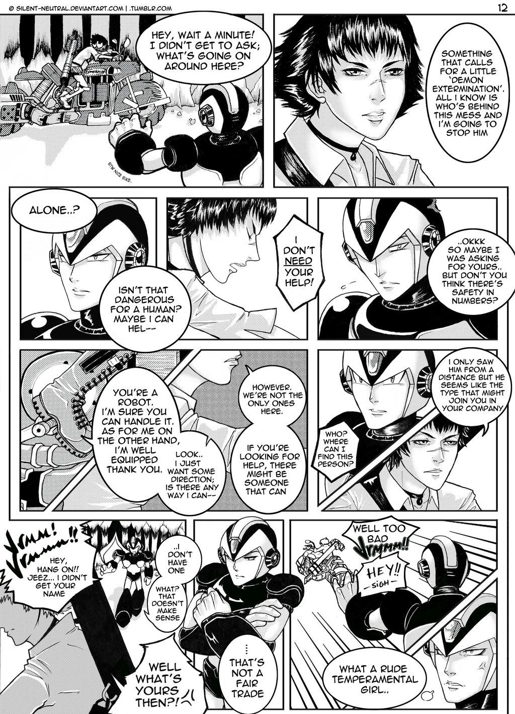 :CapcomUniverse: DevilWorld.12 by Silent-Neutral