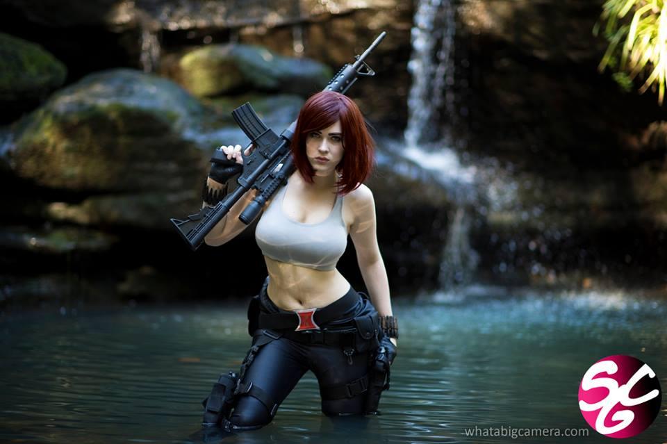 Black Widow: On Mission by EveBeauregard