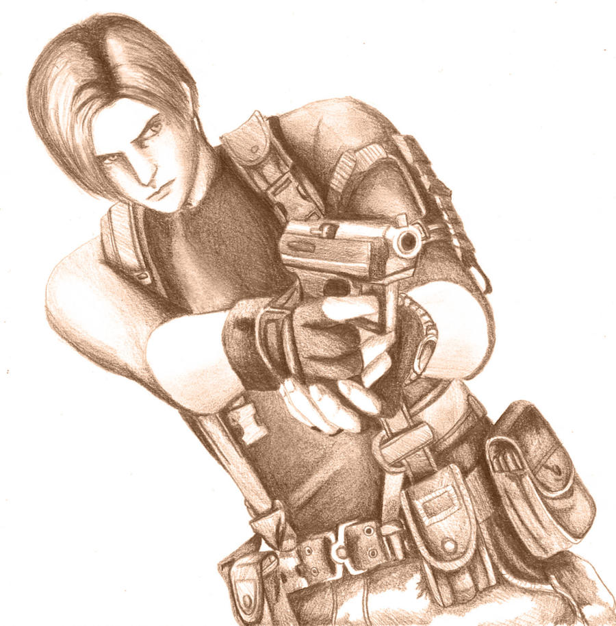 Leon Pencil by Magnum-Bug