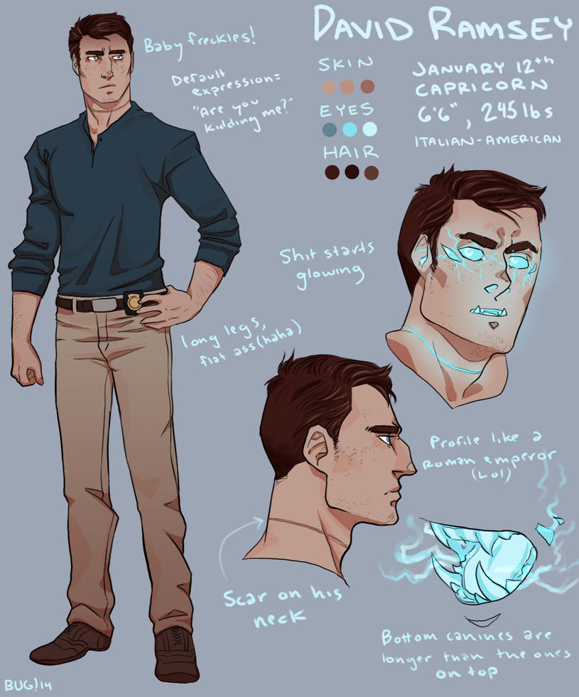 David ref by Magnum-Bug
