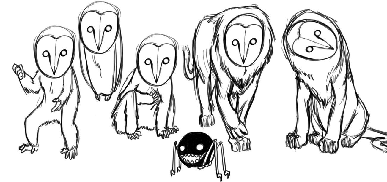 OwlWood Creatures by moglyn