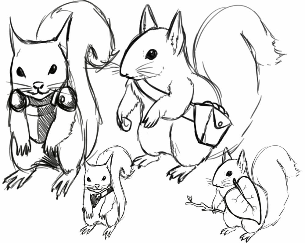 Squirrel Tribe by moglyn
