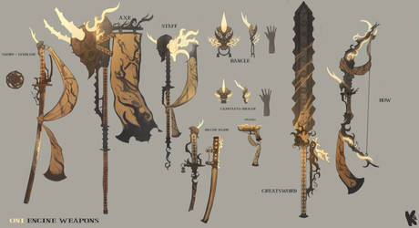 weapons Blade and Soul contest 2019