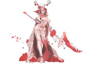 Red weddind concept art 3