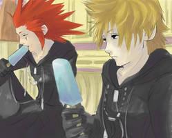 +Axel and Roxas+