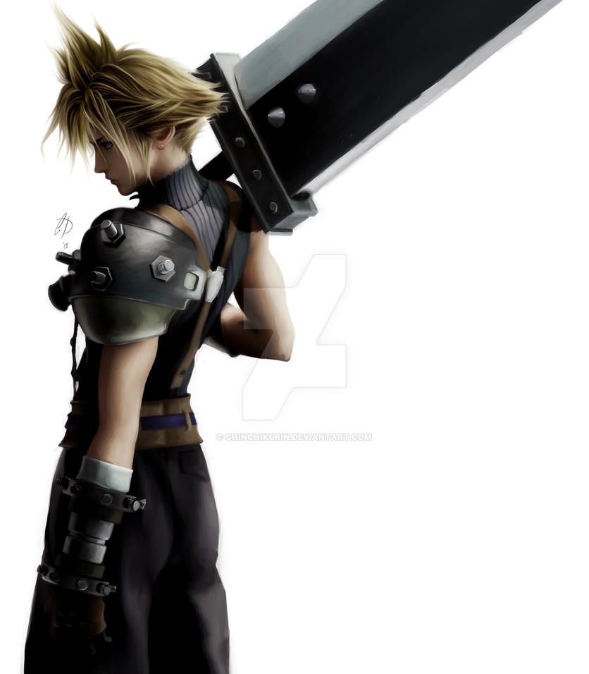 +Cloud Strife+ by Chinchikurin