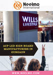 Acp Led Sign Board Manufacturers In Gurgaon