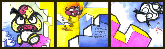 Goomba Triptych