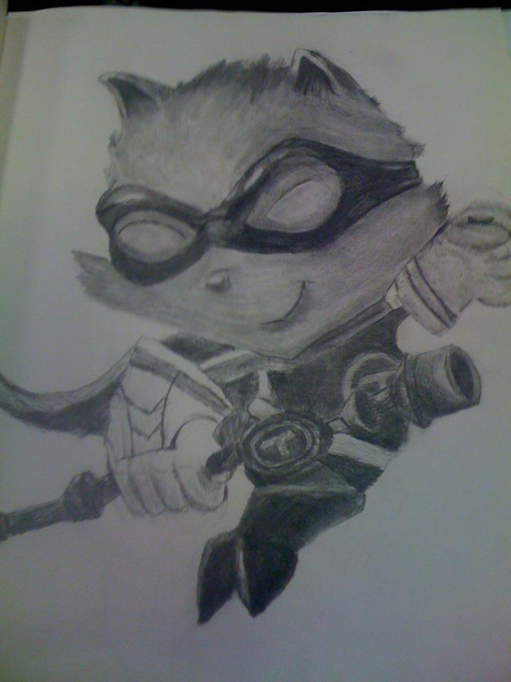 Super Teemo Drawing