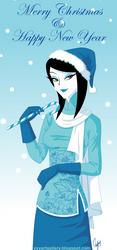 Merry Christmas by skullyan
