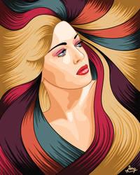 Encomium: Lana Turner by jengartist