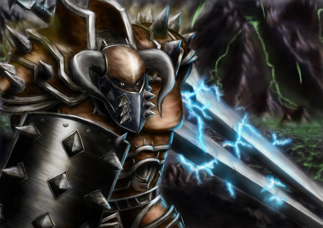 Tauren warrior: Tank by Crocorax