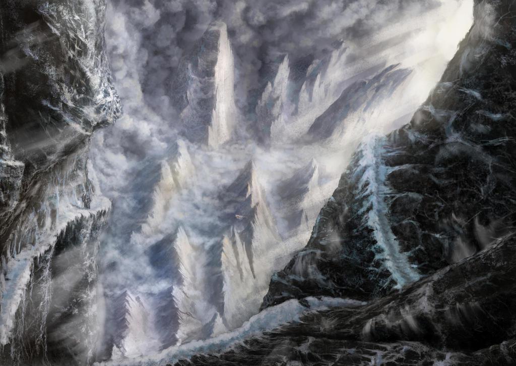 Grey wanderer by Crocorax