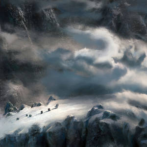 Over the Misty Mountains cold by Crocorax