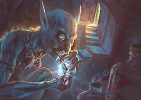 Goblin burglar
