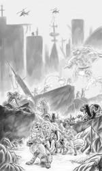 Epic battle Scene - By Jazfox by Guncraft