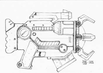 Fragger SMG design by Guncraft