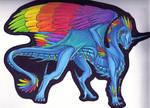 Girly Rainbow Dragon