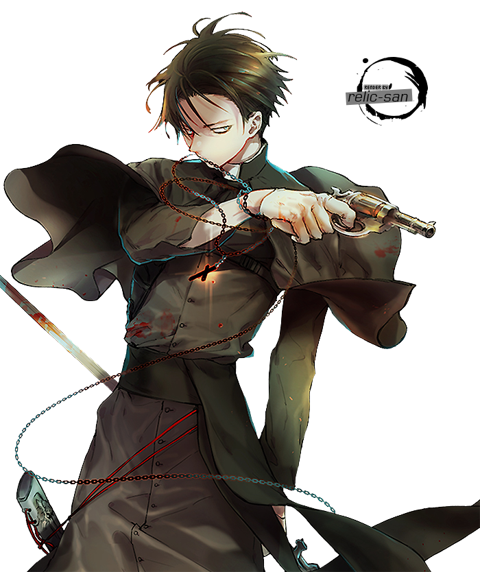 Levi Rivaille RENDER - 00 by relic-san